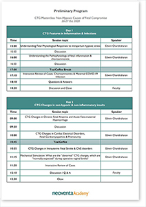 preliminary program ctg masterclass basic